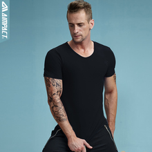 Buy Aimpact 2017 New Cotton Basic Men Tshirts Crewneck Short Sleeve Thermal Shirts Man Casual Brand Clothing Tee Workout Tops AM1014 for $9.50 in AliExpress store
