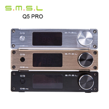 SMSL Q5 Pro 2.0 Pure Digital Home Audio Amplifier Mini HiFi Input Optical/Coaxial/USB/ Power 45W*2 With Remote Control