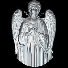 High quality New 3D model for cnc Angel 3D carved figure sculpture machine in STL file Religion