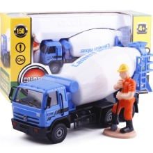1:50 Cement Mixer Model Car Metal Small Alloy Engineering Construction Vehicles Truck Decoration Classic children Toy