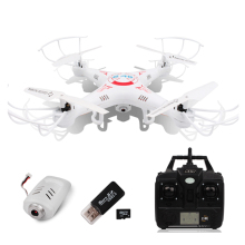 2.4G 4 CH X5C RC Drone With Camera 360-Eversion Remote Control Helicopter 6 Axis Gyro Quadcopter Led Light Flying Plane RC Toys(China)