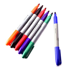 ATOMUS 6pcs Color Tattoo Transfer Pen Non-toxic Color Eyebrow Eyeline Tattoo Marker Pen waterproof Tattoo Accessories Supply(China)