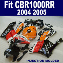 Custom ABS Injection fairings kit for Honda repsol CBR1000RR 2004 2005 CBR 1000 RR 04 05 CBR1000 RR motorbike fairing body parts(China)