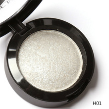 Baked Eyeshadow Eye shadow Palette in Shimmer Metallic Eyes Makeup Cosmetics Tools 10 Colors