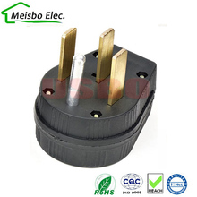 America 50A 125V 250v Nema L14-50P us 4 pole industry power converter plug male wire connector(China)