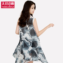 2017 Beach Cover Up Pareo Floral Print Silk Scarf Bikini Swimwear Women Kimono Cardigan Chiffon Wrap Shawl Beach Sarong Dress(China)