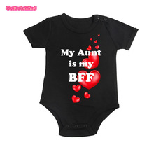 Culbutomind Newborn Toddler Baby Boys Girls Clothing best Aunt Body suit Cotton Body suit Summer Baby Clothes Jumpsuit