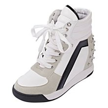 Autumn Winter Women's Casual Shoes Zipper Platform Wedge Boots Height Increasing Shoes Breathable Warm Ankle Boots Wedge Shoes