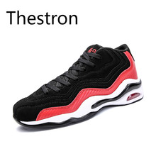 Thestron Men's Basketball Shoes Outdoor Boys Basketball Shoes Athletic Sneakers Ankle Boots Anti-slip Outdoor Sport Sneakers(China)