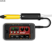kebidu 1PC  Rig Guitar Link Audi AMP Amplifier Guitar Effects Pedal Convertor Adapter Cable Jack for iPhone iPad iPod