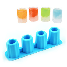 Hot New Ice Cube Tray Freeze Mold Silicone Ice Cream Maker Mould Summer Home & Bar Drinking Assessors