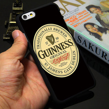 Band Beer Guinness Black Phone Case for iPhone 5S 5 SE 5C 4 4S 6 6S 7 Plus Cover ( Soft TPU / Hard Plastic for Choice )