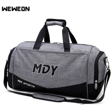 Large Capacity Sports Gym Bag Men Women Outdoor Sports Storage Totes Soccer Training Handbag Waterproof Fitness Shoulder Bag(China)