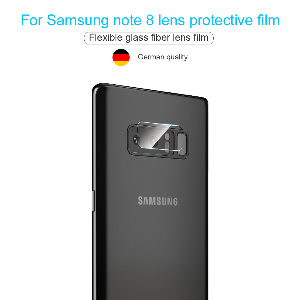 Phone Camera Len Film For Samsung Galaxy Note 8 S8 S8 Plus S7 Edge Tempered Glass 2.5D Screen protector Camera protection film (7)
