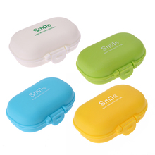 4 Slots Portable Pill Box Medicine Case Drug Pill Case Cute rectangle Shaped Medicine Case Pill Splitters Cases