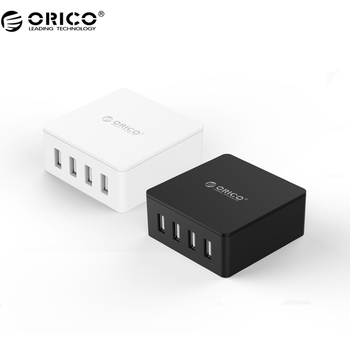ORICO CSK-4U-V1 4 Port USB Charger with Fast Charging Technology for Your Moblie Phone, Tablet and Other USB Device