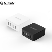 ORICO CSK-4U-V1 4 Port USB Charger with Fast Charging Technology for Your Moblie Phone, Tablet and Other USB Device(China)