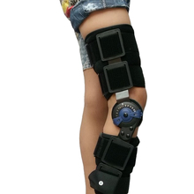 Kids Post Op Hinged Knee Braces ROM Medical Osteoarthritic Knee Support For Children With Lock For Walking Laying And Sports(China)