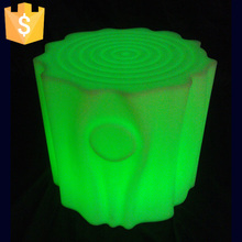 2017 New Arrival hot sale Magic KTV bar LED Tree Stool Chair led light furniture Free shipping 8pcs/Lot(China)