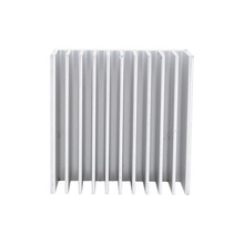 White Color Heat Sink 40X40X20mm IC Heat Sink Aluminum Cooling Fin Fan Cooling Accessories