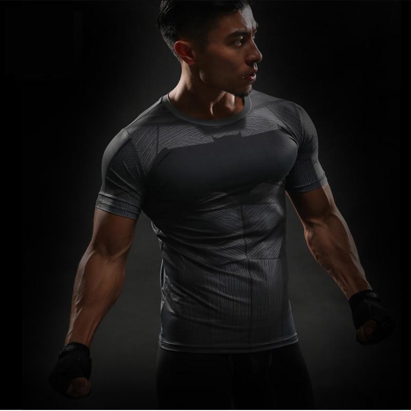 MMA Short Sleeve 3D T Shirt Men T-Shirt Crossfit Tops Punisher Crossfit Funny Superman tshirt Fitness Compression Shirt Tee 4XL 40