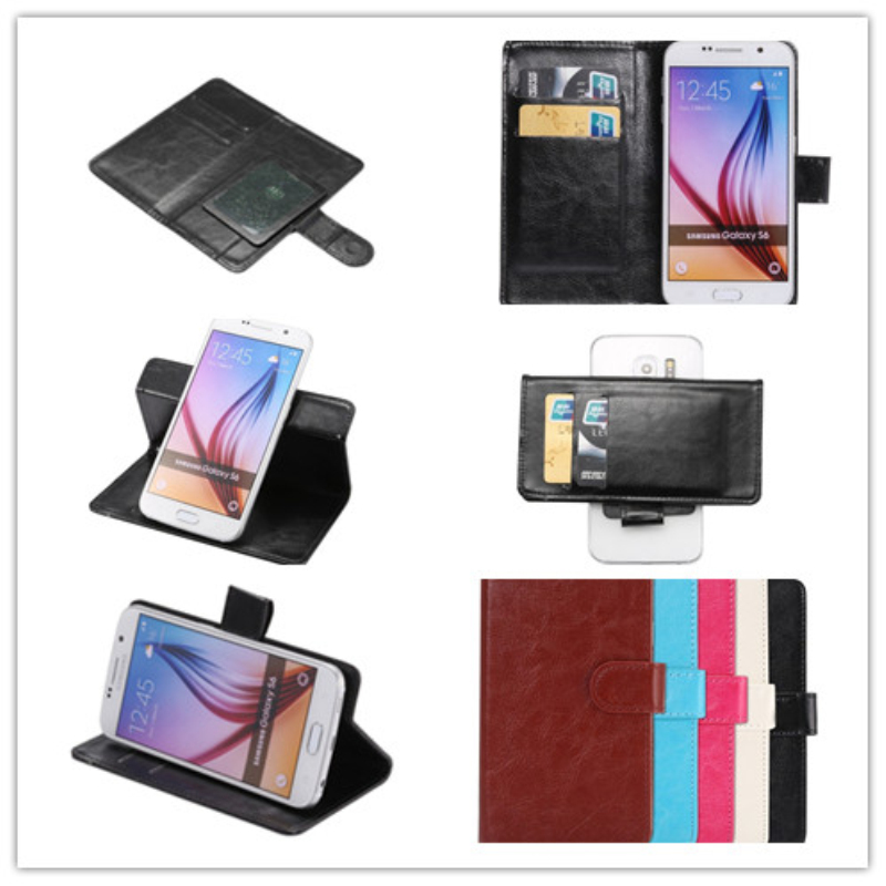 New Design Fashion 360 Rotation Ultra Thin Flip PU Leather Phone Cases HomTom S9 Plus