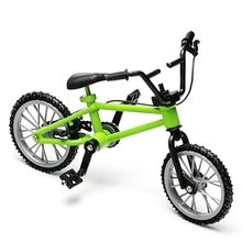 Creative Game Gift for children toys bike Metal mini BMX Finger Mountain BikesToys mini-finger-bmx bicicleta 4 color