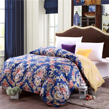 Modern style brown prints pattern 100% cotton bedding home textiles 1Pcs duvet cover quilt cover bedspread five size super soft(China)