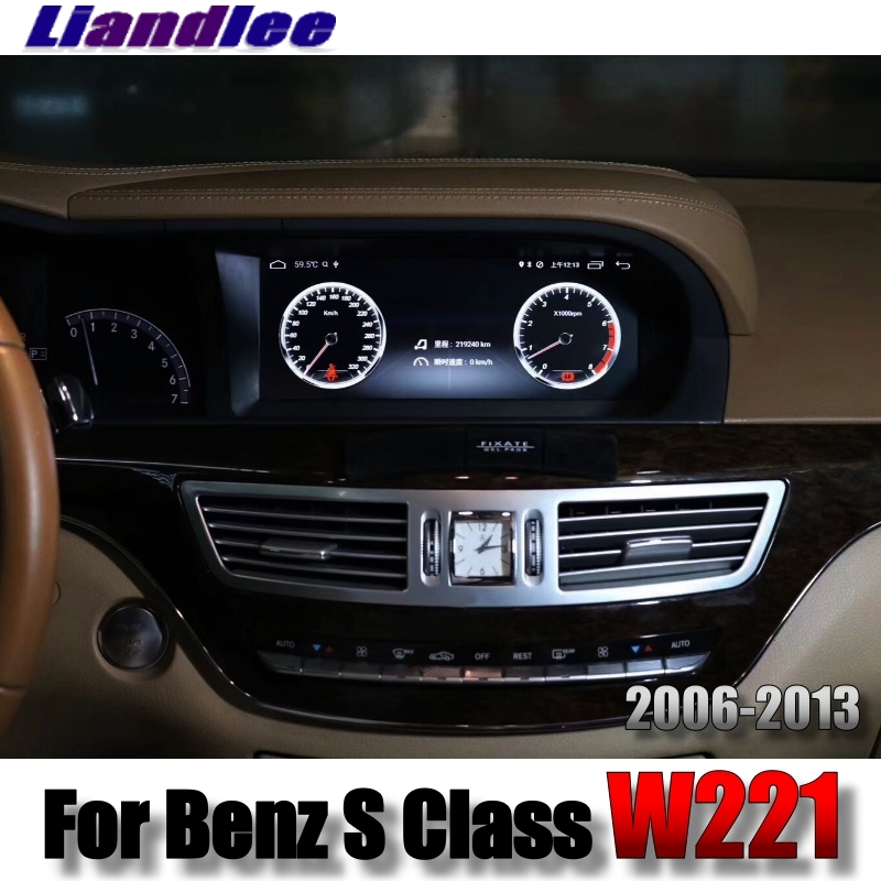Liandlee Car Multimedia Player NAVI For Mercedes Benz S W221 S280 S320 S400 S600 S63 2006~2013 Accessories Radio GPS Navigation 7