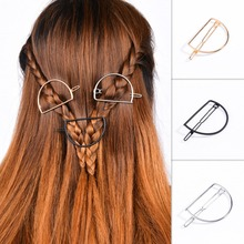 TS1012 Gold Silver Color Hairpin Hair Clip Fashion Jewelry Head Accesories Women Decorations for Hair 2017 Promotion(China)