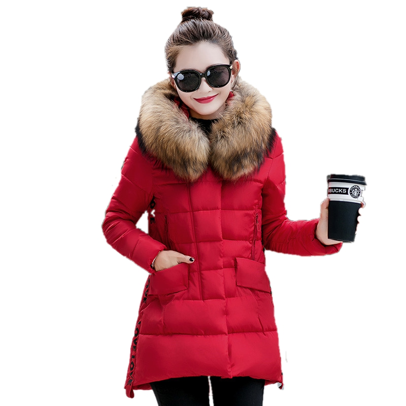 Women clothes new womens winter long section Nagymaros collar Slim Down coat female thick warm padded hooded down jacket Одежда и ак�е��уары<br><br><br>Aliexpress