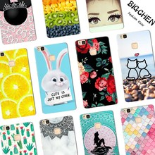 Soft Silicone Case For Huawei P8 P9 P10 Nova Lite Plus Mate 9 TPU Case Back Cover For Huawei Honor 6X 8 9 5A Y6 Pro Phone Cases