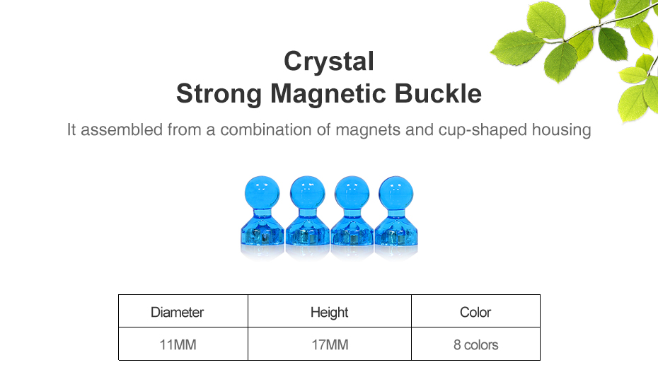 01 Strong Fridge Magnets Neodymium Art Craft Office Magnets Buckle Whiteboard Magnet Sticker for Cup Shape Home Decor