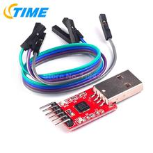 10PCS CP2102 Serial Converter Module USB 2.0 To TTL UART 6 PIN Output(China)