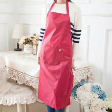 Hot Sale Brief Women Apron Home Kitchen Cooking Chefs Butchers Shop Craft Restaurant High Quality Aprons