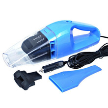 Portable Car Vacuum Cleaner Wet And Dry Dual Use Handheld Super Suction Mini(China)