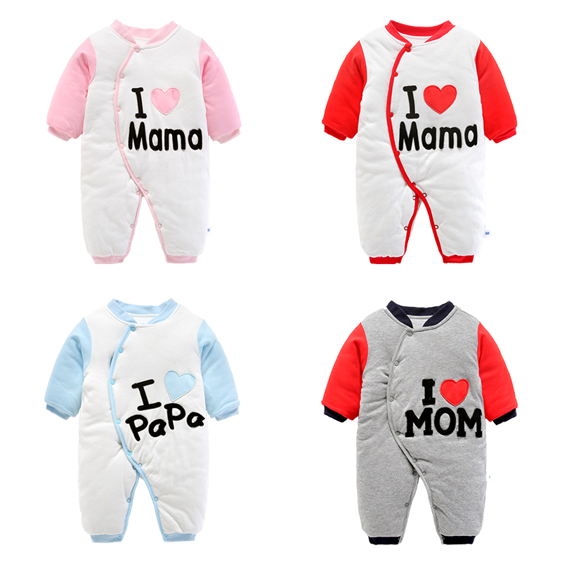baby clothes autumn infant romper newborn thickened clothing<br>