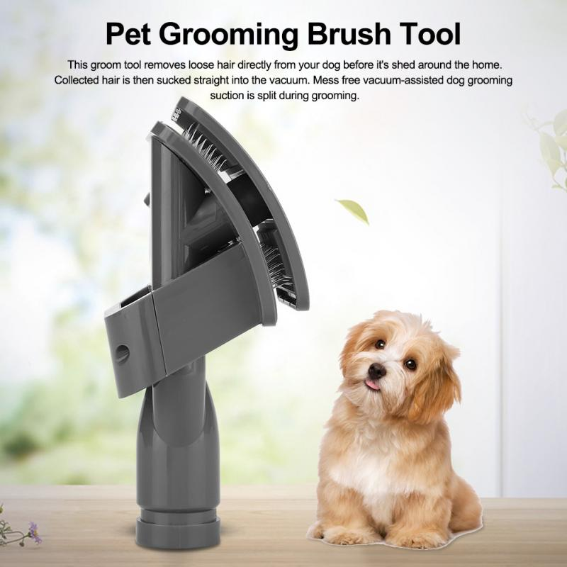Sensible Pet Vacuum Cleaner Brush Nozzle Accessories 32mm Dog Cat Massage Hair Comb Tools High Quality Air Conditioning Appliance Parts Home Appliances