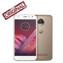 Original Motorola MOTO Z2 Play XT1710-08 Cell Phone Octa Core 2.2GHz 4G 64G 5.5'' 1920*1080P 12.0MP Android 7.1 Fingerprint NFC(China)