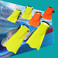Adjustable Diving Boots Stylish Soft Swimming Flippers For Toddlers Learn Swimming Fins kid Children Shoes for Swimming Shoes(China)