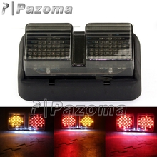 PAZOMA Smoke Motobike Stop Rear Tail Light Motorcycle Taillamp LED Brake Turn Signals For Honda RC51 1999-2006(China)