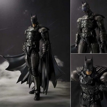 2016 New Original Box Bandai Batman Action Figure Movie Cartoon Bat-Man SHF 18cm PVC Model Anime Model Toys kids toys Action-008