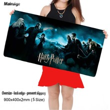 DIY Luxury Printing Harry potter Customized Durable Gaming PC Anti-slip Locking Edge Large Mouse Mat for Optical/Trackball Mouse