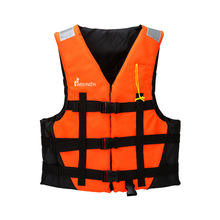 Adult Life Jacket Professional Life Vest For Drifting Boating Survival Fishing Safety Jacket Water Sport Wear with Reflector(China)