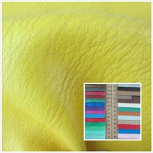 Litchi grain style 1.3mm faux leather fabric 92 color soft durable PU synthetic leather textile fabric for sofa bag belt shoes