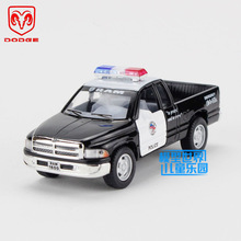 Free Shipping/KiNSMART Toy/Diecast Model/1:44 Scale/Dodge Ram Pickup Truck Police/Pull Back Car/Educational Collection/Gift/Kid(China)