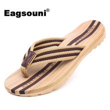 Eagsouni 2017 Summer Men Shoes Fashion Flip Flops Female's Shoes Zapatillas Hombre Slippers Couple(China)