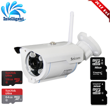 Sricam SP007 IP Camera  Infrared 720P WIFI Onvif HD P2P for Smartphone Waterproof Vandalproof Support 128G SD TF Card IR Outdoor