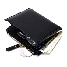 Buy Famous Brand Men PU Leather RFID Wallet Zipper Handy Bags Card Holder Coin Pocket Dollar Price Credit Purse Erkek Cuzdan for $7.44 in AliExpress store