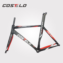 2015 high quality for sale costelo rxrs frame road bike carbon fiber frame BB30 road bicycle frame size 49/51/53/55/57